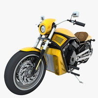 3d generic motorcycle