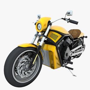 3d generic motorcycle