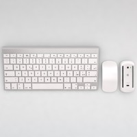 3d model of mac keyboard mouse