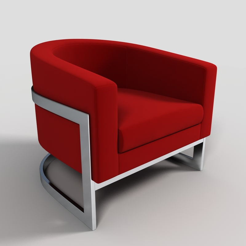 lounge chair 3ds