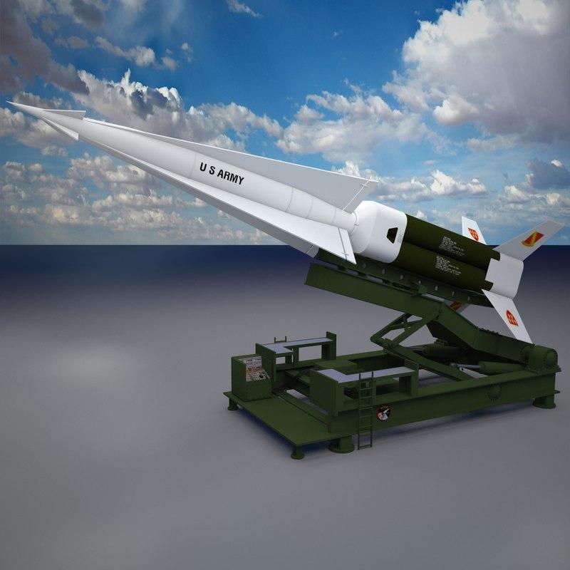 max nike hercules launcher missile