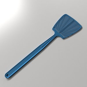 3d model fly swatter flyswatter
