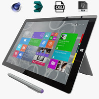 3d microsoft surface pro 3 model