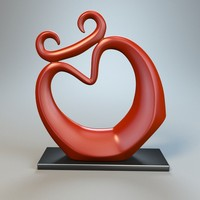 sculpture statue 3ds