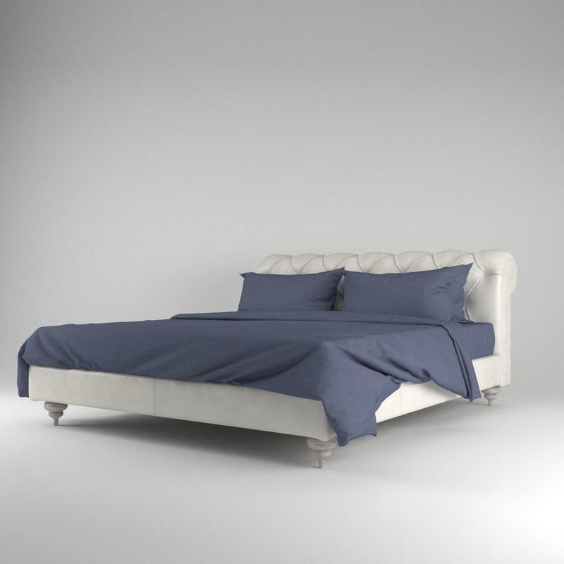 3d baxter casper bed