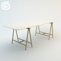 spade table 3d model