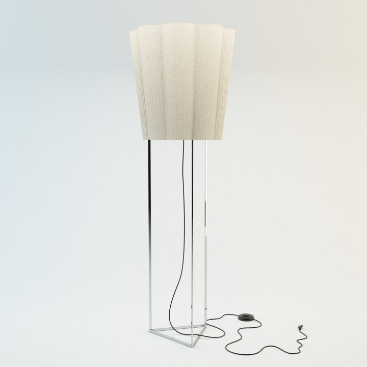 fiore floor lamp 3d max
