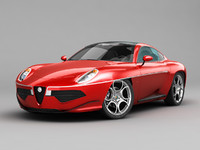 Alfa Romeo Disco Volante Touring 2013 RED