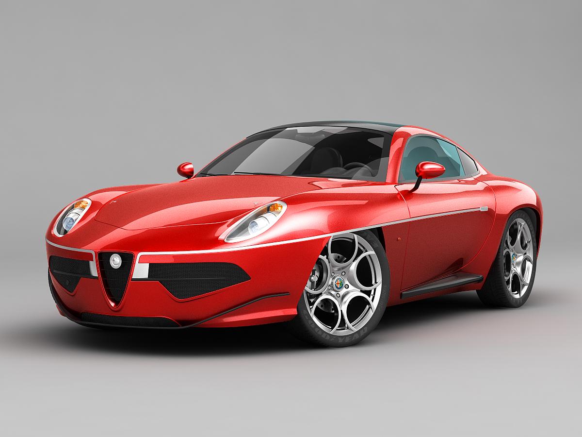 Alfa Romeo Disco Volante For Sale >> Alfa Romeo Disco Volante Touring 2013 Red