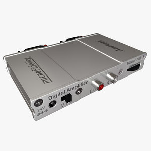 amplifier amp 3d model