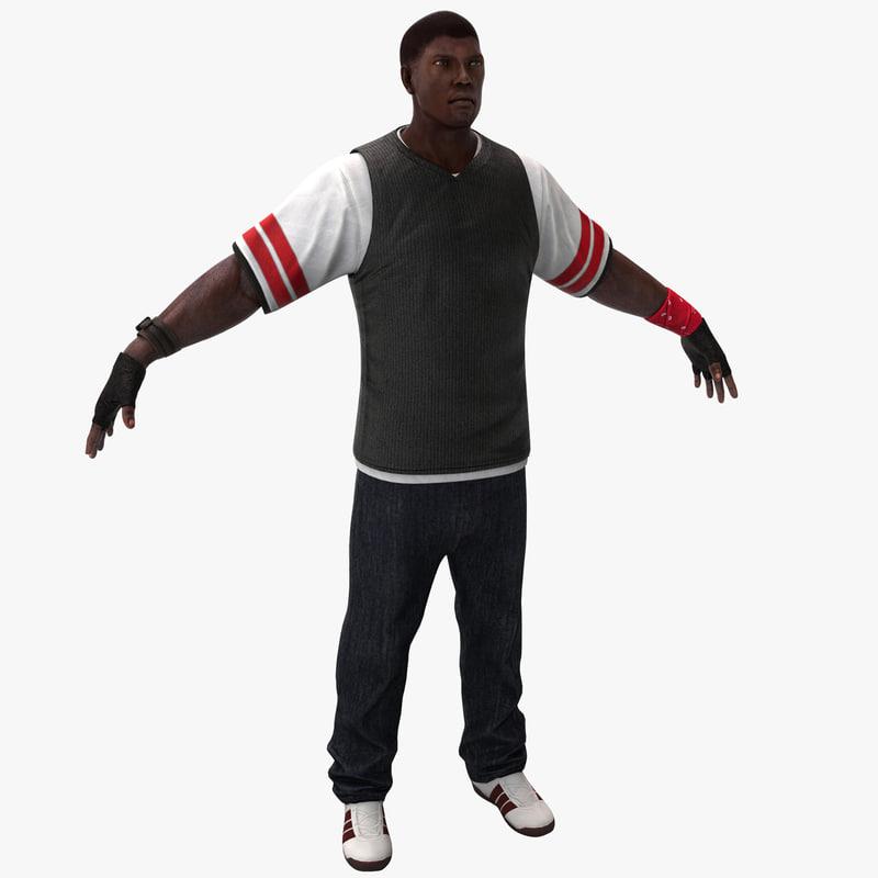 black male rigged max