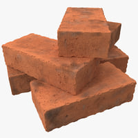 3ds bricks materials