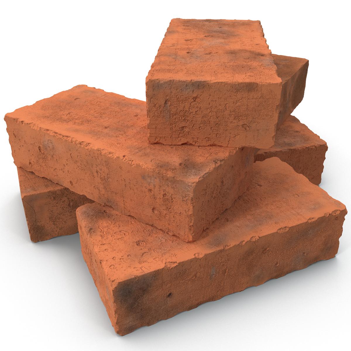 3ds bricks materials