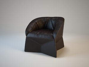 3d ds 315 sede leather chair