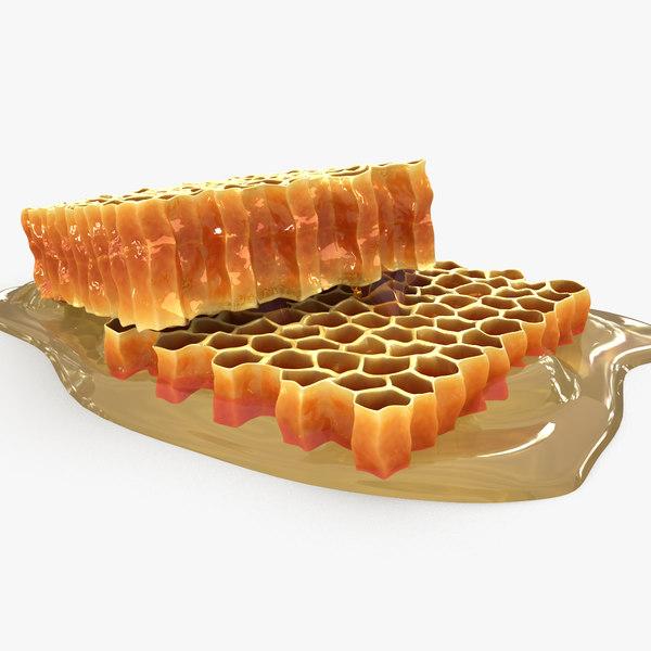 honeycomb scanline 3d model