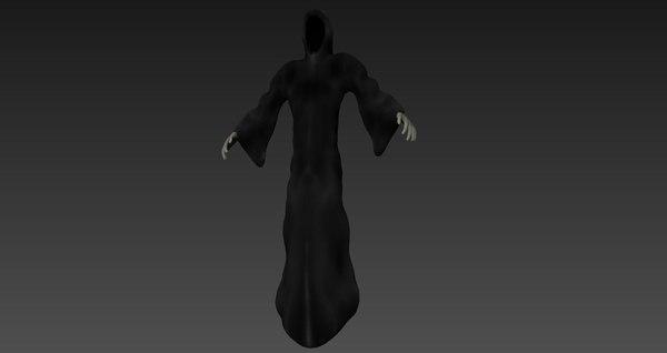 shadow wraith 3d obj