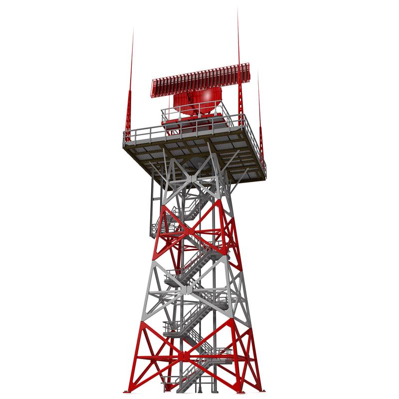 airport primary surveillance radar 3ds