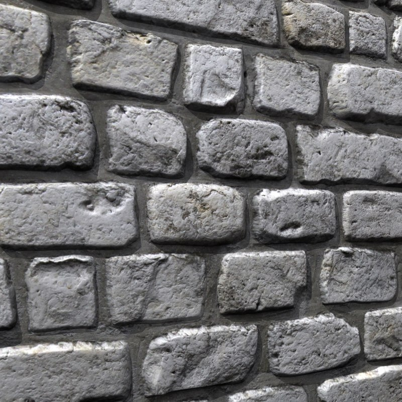 3d model brick wall 13