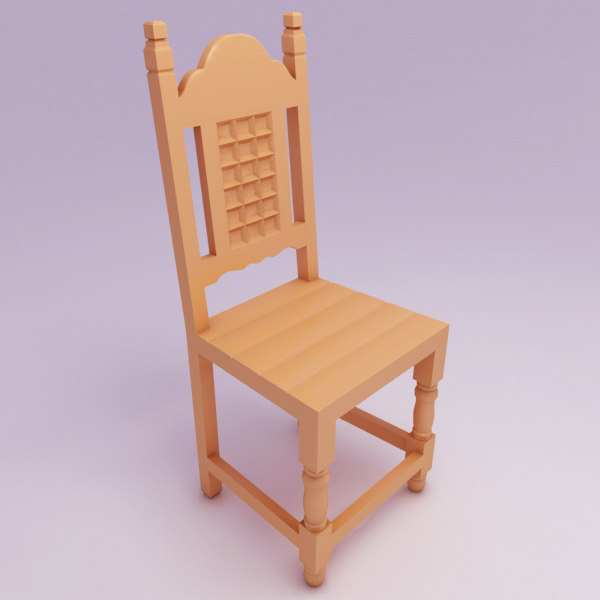chair rustic max