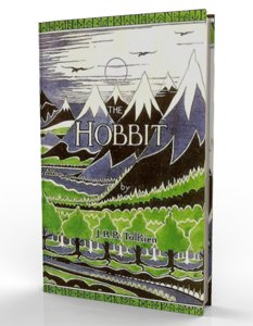 hobbit book obj