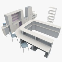 3d max office furniture