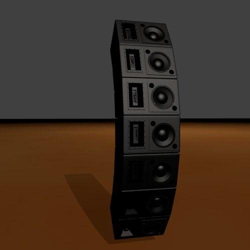 blender speaker array