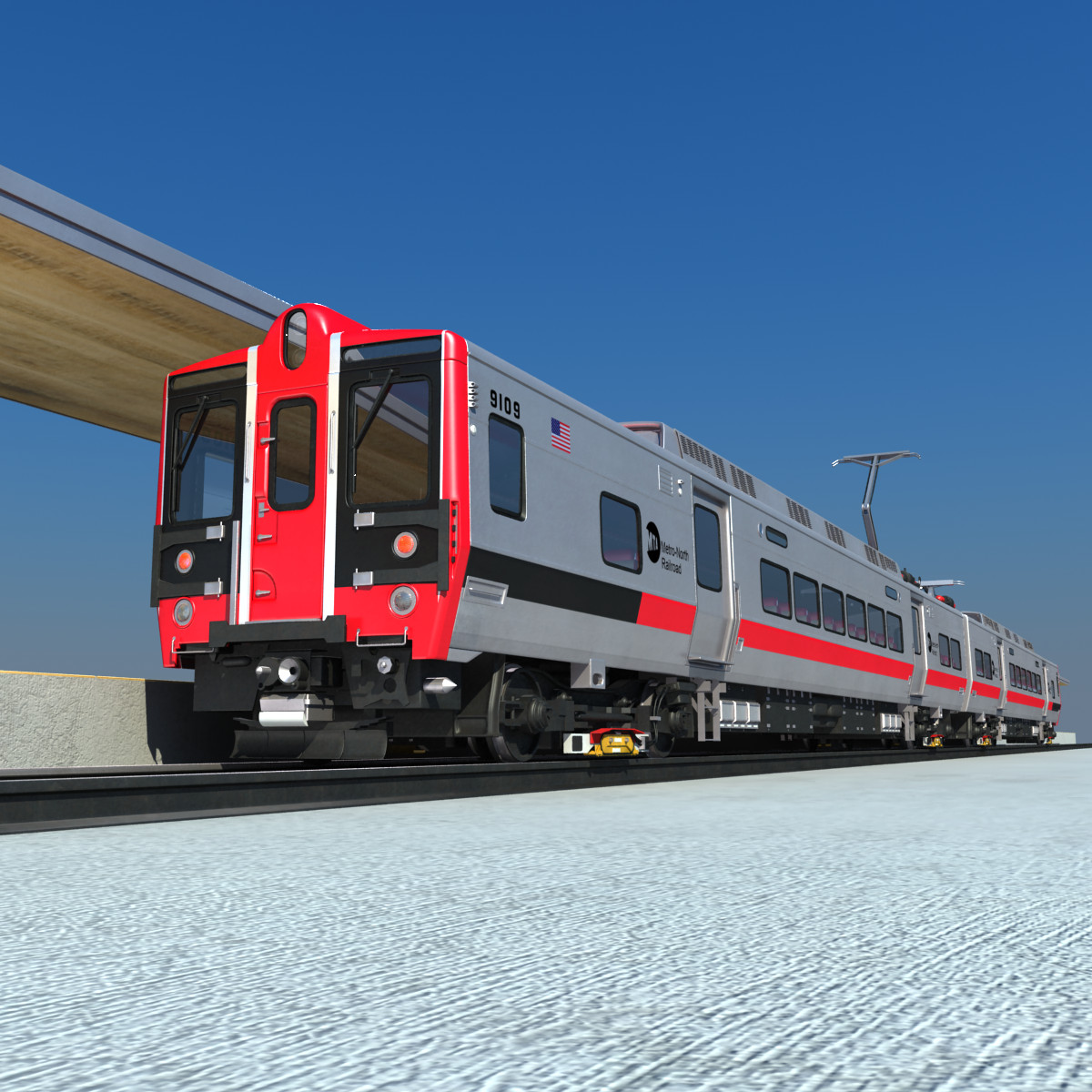 metro north kawasaki m8 3d model