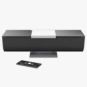wireless music onkyo abx-n300 3d model