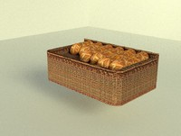 3d bread display