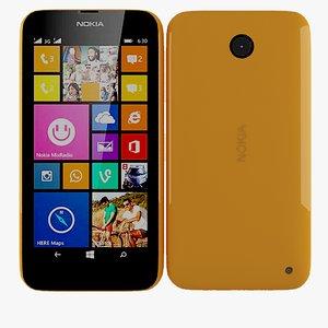 nokia lumia 630 635 3d model