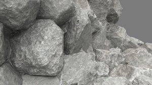 props stone 3d fbx