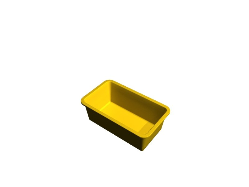 tote products conveyor 3d model