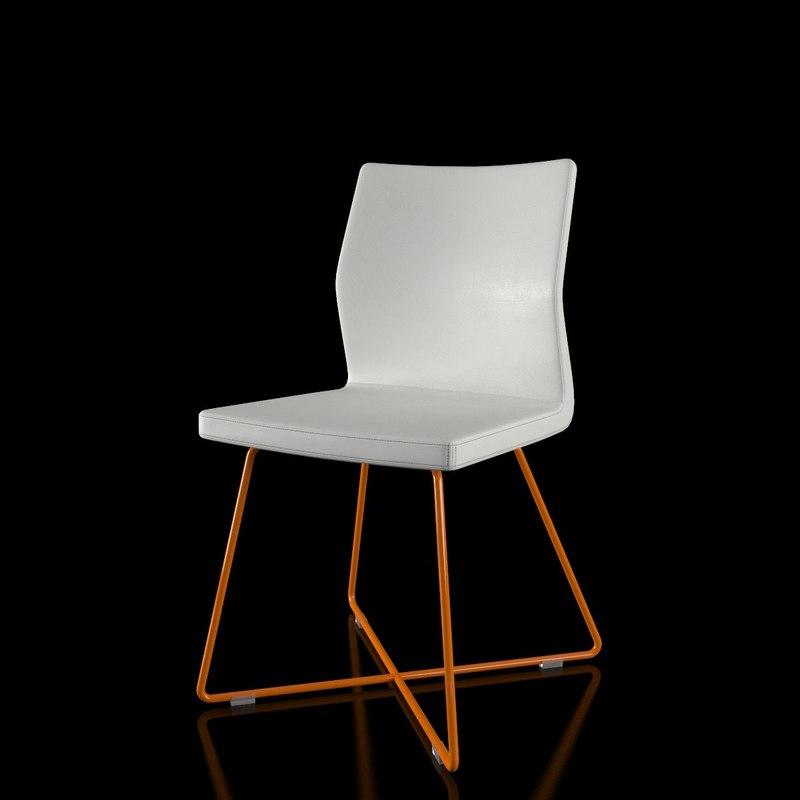 3d bonaldo razor x chair
