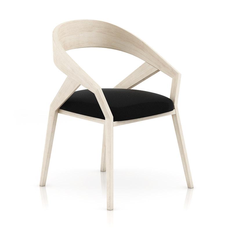 3d chair pillow