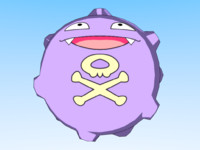 3d model pokemon koffing