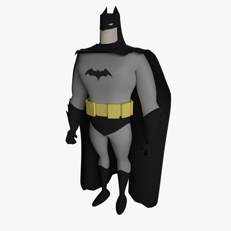 3d batman series bat