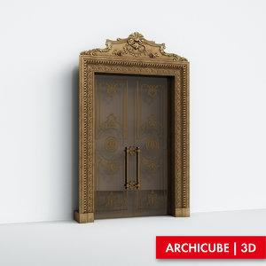 maya door double