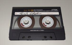 3d cassette tape model
