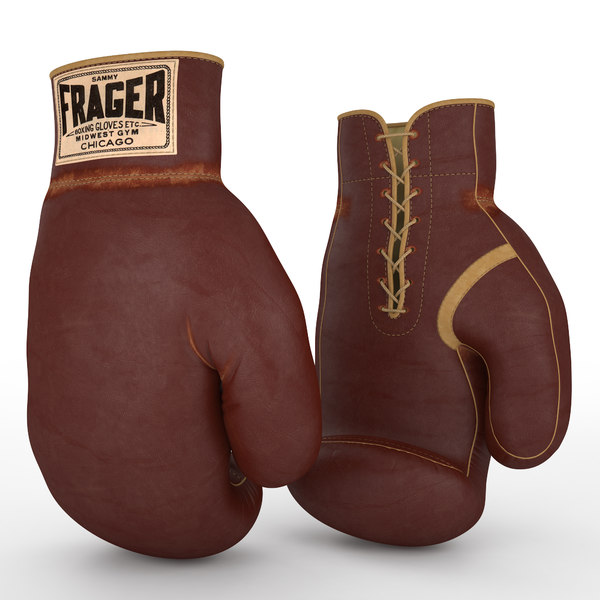 3d model sammy boxing gloves