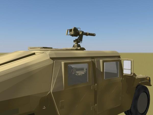 military humvee camo version 3d ma