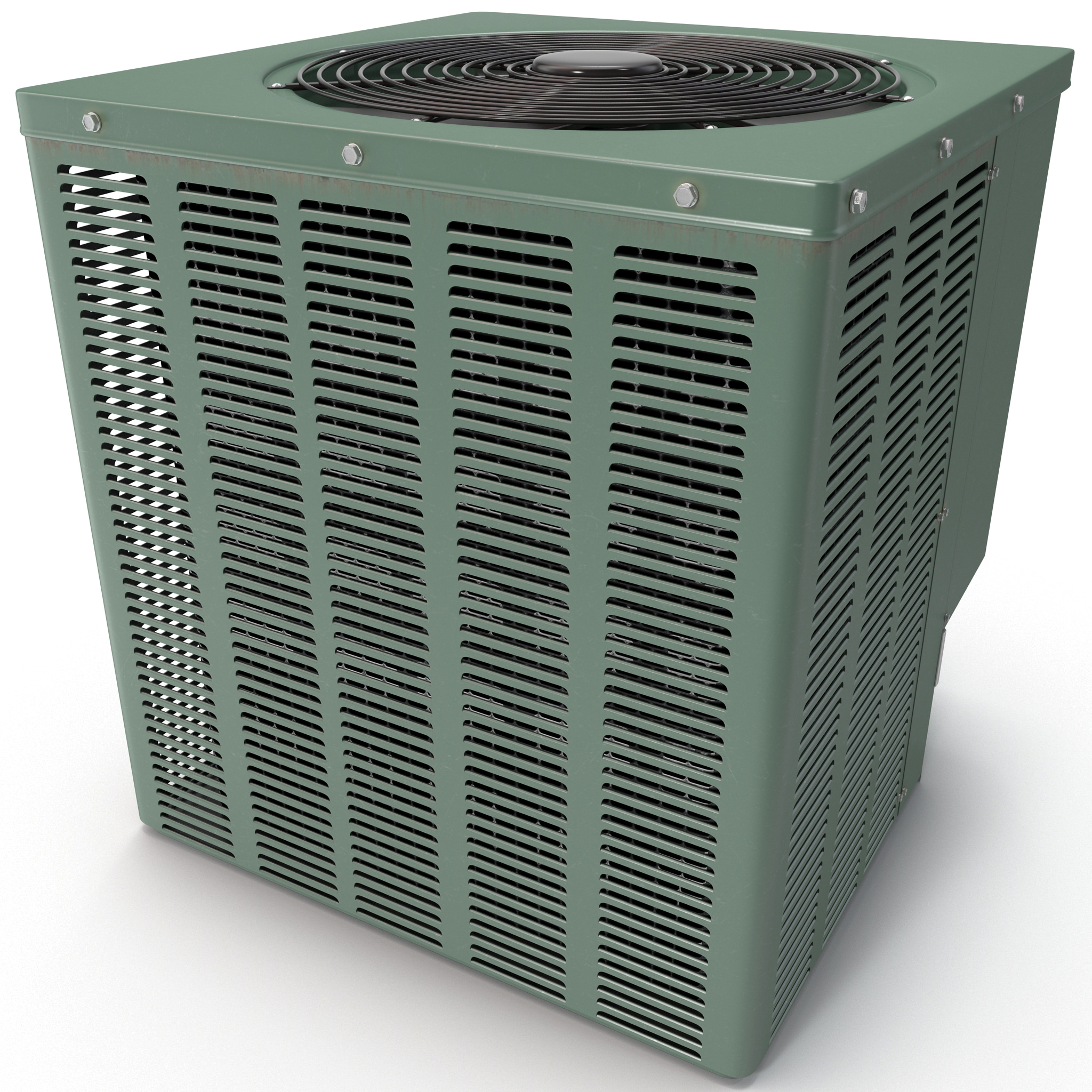 3d model of household ac unit ruud