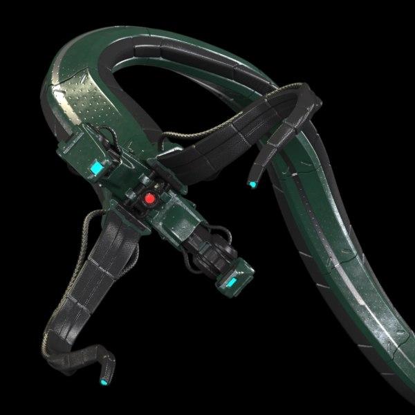 3ds max robotic tentacle