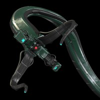 3ds max robotic tentacle