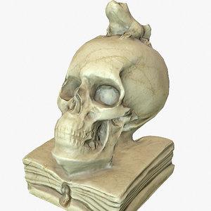 3d ready skull