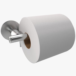 3ds max toilet paper holder