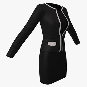 black womens office suit max