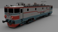 3d class 42 electric locomotive model