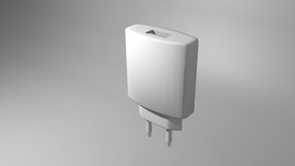 3d usb wall adapter