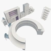 office furniture 3d model