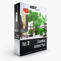 NICEMODELS Vol 2 - Essential Archviz Pack